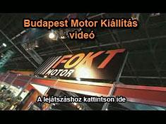 Budapest Motor Kiállítás 2007 - videó