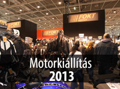 Motorkiállítás 2013