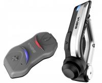 SENA 10R nagyon karcsú és pehely könnyű Bluetooth 4.1 kommunikációs szett Kormánytávirányítóval