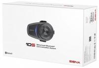 SENA 10S Bluetooth 4.1 sztereó kommunikációs szett univerzális mikrofon kittel