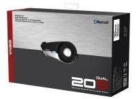 SENA 20S-DUPLA SZETT Bluetooth 4.1-es HD hangminőségű kommunikáció bukósisakokhoz