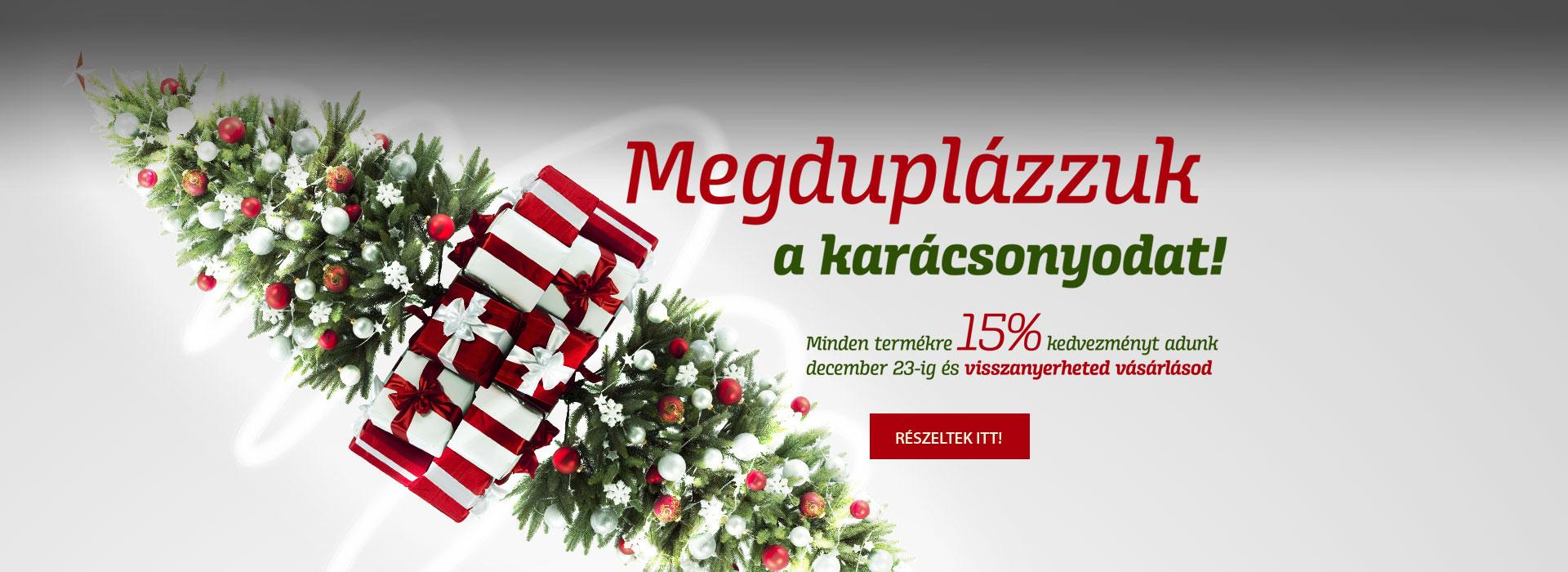 Karácsonyi motoros ajánlatunk
